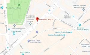 mapa - Hotel tatra